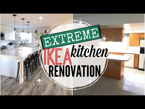🏘KITCHEN REMODEL REVEAL 2018 ● EXTREME IKEA KITCHEN RENOVATION 2017 ● IKEA KITCHEN BEFORE AND AFTER
