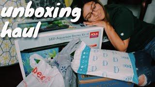 FISH Supplies HAUL/ UNBOXING!! | Amanda Jule | 2018