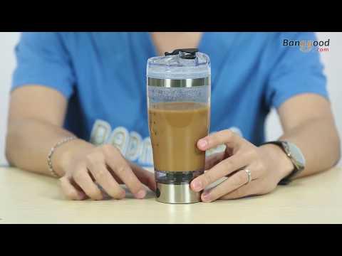 Digoo Portable Vortex Mixer Creative Blender Protein Shaker Bottle Evolution