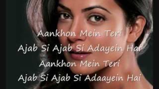hindi song - Ajab Si hindi+english Lyrics - YouTube