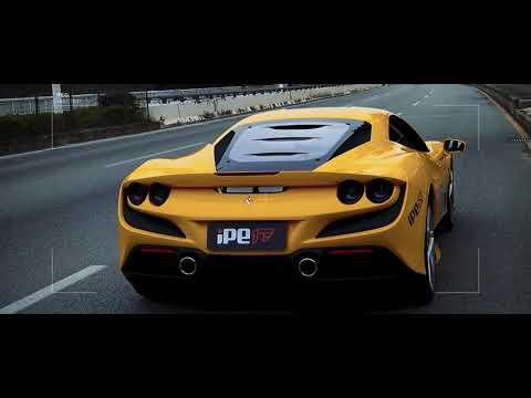 Ferrari F8 Tributo Full System │exhaust sound│ OPF version