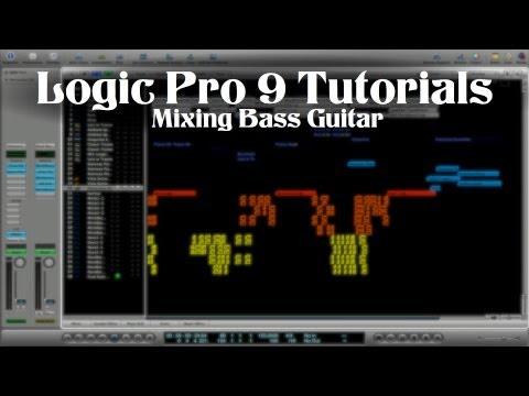 Logic Pro 9 Tutorial – Mixing Bass Guitar