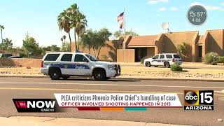 Phoenix police union upset at ruling in 2015 officer-involved shooting