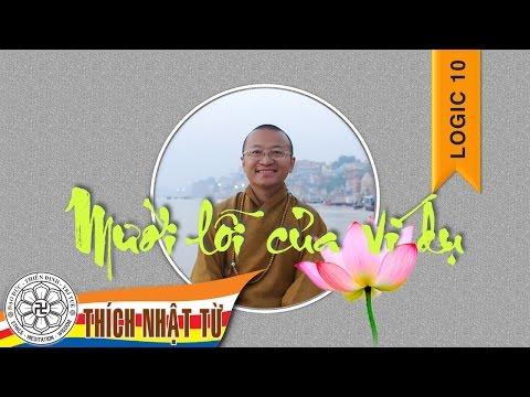Logic học Phật giáo (2007) - Bài 10: Mười lỗi của ví dụ