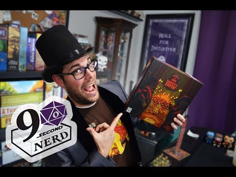 90 Second Nerd Board Game Review: Barker's Row