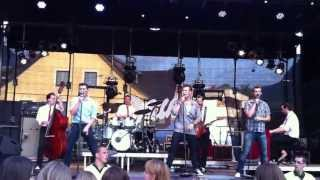 The Baseballs - Follow Me (Live - Bludenz 2013)