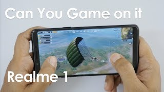 Oppo RealMe 1 Gaming Review - Can it Play Heavy Games?