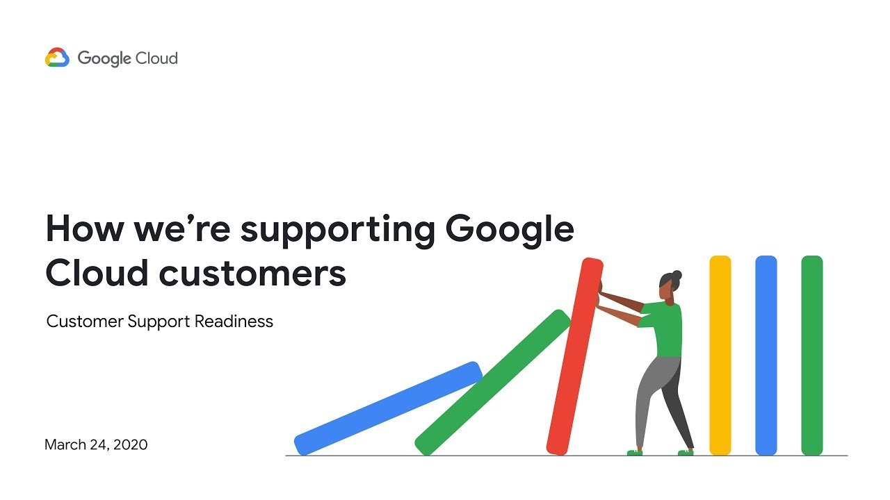 How we're supporting Google Cloud customers part 2