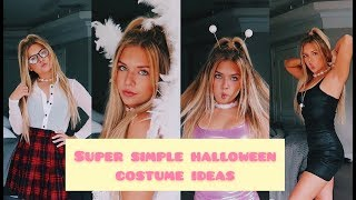 SUPER SIMPLE **and Hot** HALLOWEEN COSTUME IDEAS