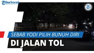 Alasan Yodi Prabowo Pilih Pinggir Jalan Tol Diduga untuk Bunuh Diri, Polisi Beri Penjelasan