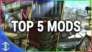 Top 5 Console Mods 4 - Building Mods - Skyrim Special Edition (XBOX/PC)