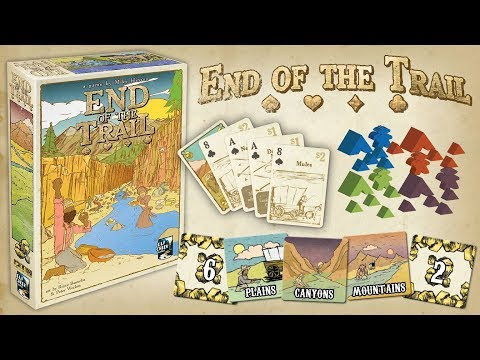 End of the Trail - Board Game Spotlight