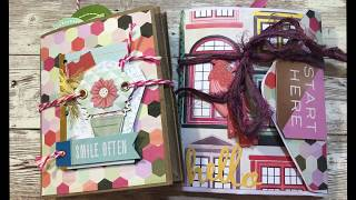 Use An Entire 12x12 Paper Pad- Envelope Flip Book And Paper Bag Flip Book