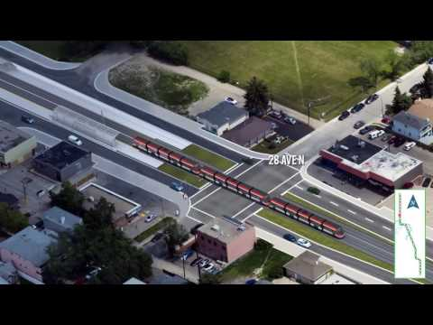 Green Line LRT: North To South Track Alignment (March 2017) Mp3