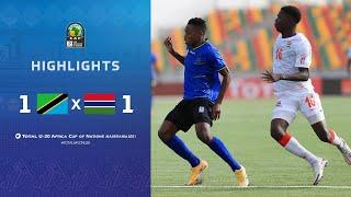CAN U20 2021 | Groupe C : Tanzanie 1-1 Gambia