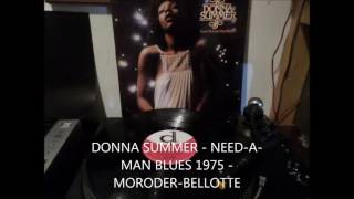 DONNA SUMMER   NEED A MAN BLUES