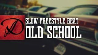Slow OldSchool type hip hop freestyle instrumental beat