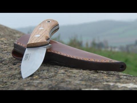Jonny Crockett product promo – Forest knife