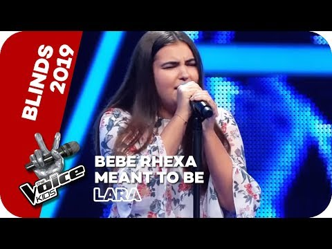 Bebe Rexha - Meant To Be (Lara) | Blind Auditions | The Voice Kids 2019 | SAT.1