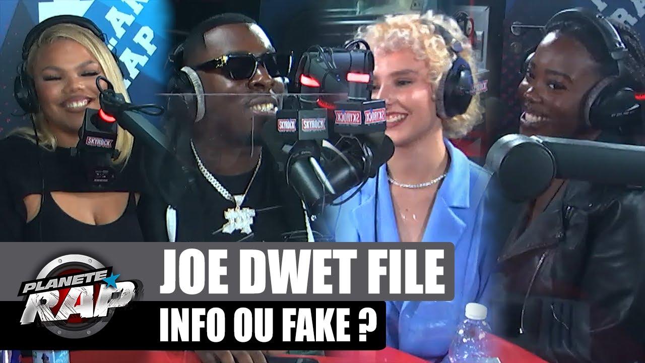Joé Dwèt Filé FAN de PARKOUR : Info ou Fake ? avec Baya, Margie & Tyana ! #PlanèteRap
