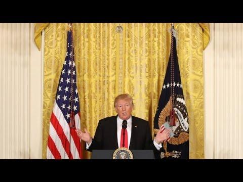 President Trump's full press conference