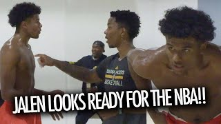 Jalen Green HEATED UP With Josh Christopher! Both Look READY For The NBA DRAFT!