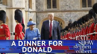 A Special Menu Item For Trumps UK State Dinner