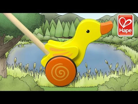 Duck Wooden Toy from Hape