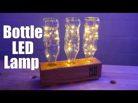 ✅  Modern Bottle Lamp - Flaschen Lampe zum nachbauen - DIY -