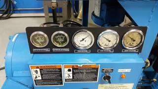 Used Sullivan Palatek 50 HP Rotary Screw Air Compressor