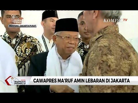 Ma'ruf Amin Sampaikan Salam dan Maaf kepada Prabowo-Sandiaga