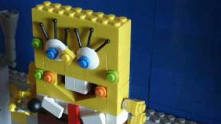 "Lego Spongebob ""It's the best day ever"""