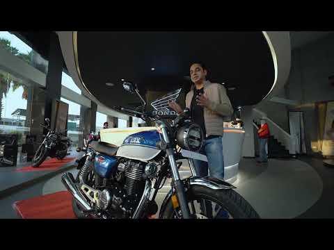 Honda H'ness CB 350 DLX Bike