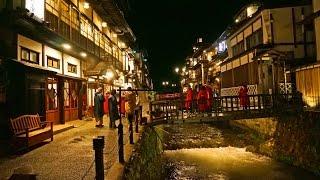 銀山温泉二泊の旅最上川船下り白銀の滝山形県Ginzanhot-spring