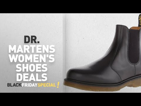 Top Black Friday Dr. Martens Women's Shoes Deals: Dr. Martens 2976 Chelsea Boot,Black Smooth