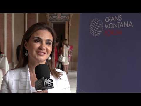 Crans Montana Forum: Interview Mrs. Sahar Nasr