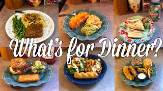 What's for Dinner?| Easy & Budget Friendly Family Meal Ideas| August 26th- September 1st, 2019