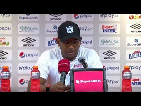 Declaraciones de Jerson Gonzalez luego de el empate frente a Millonarios en el Pascual Guerrero.