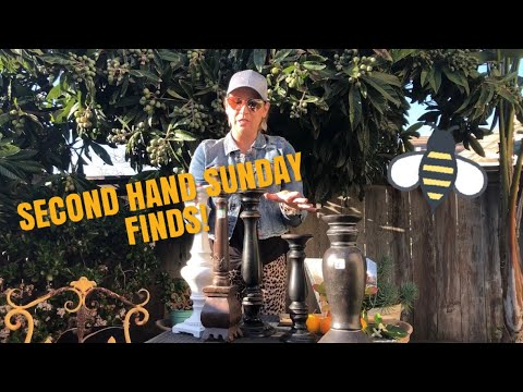 SECOND HAND SUNDAY FINDS, Goodwill haul, boutique haul  & Travel Footage