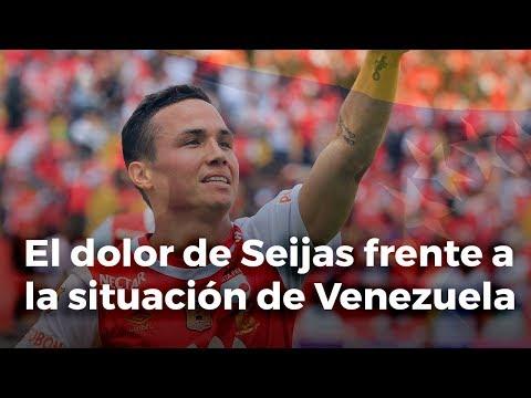 El dolor de Luis Manuel Seijas frente a la situacion de Venezuela #QuePasaChamo
