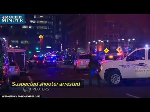 Suspected shooter arrested