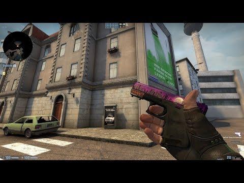 Csgo Glock 18 Moonrise Ft Rare Star Showcase Smotret Onlajn
