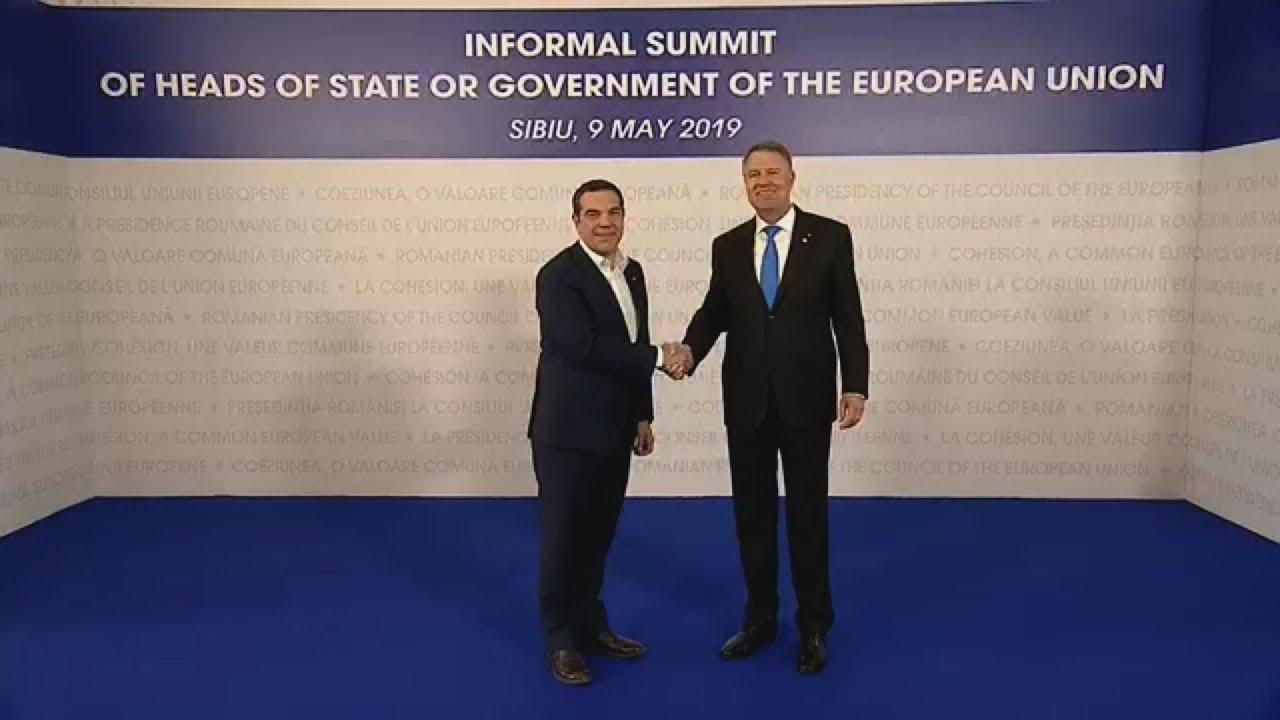 O Αλ. Τσίπρας στη Σύνοδο Κορυφής της ΕΕ