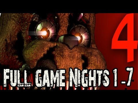 Gameplay de Five Nights At Freddys 4