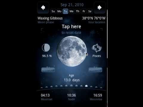 Video of Deluxe Moon - Moon Calendar