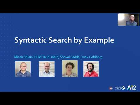 Syntactic Search by Example – ACL 2020 Thumbnail