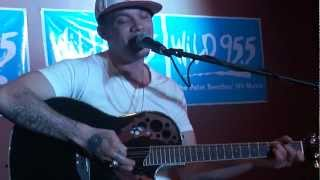 Chris Rene - We're Still Here acoustic - Wild 95.5 West Palm Beach 4.18.12