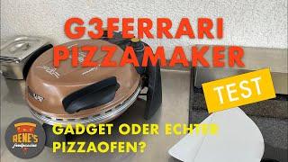G3Ferrari Pizzamaker! Gadget oder echter Pizzaofen?