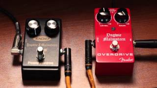DOD YJM308 Preamp Overdrive vs Fender Yngwie Malmsteen Signature Pedal