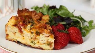 Cheesy Breakfast Bake | Brunch Month